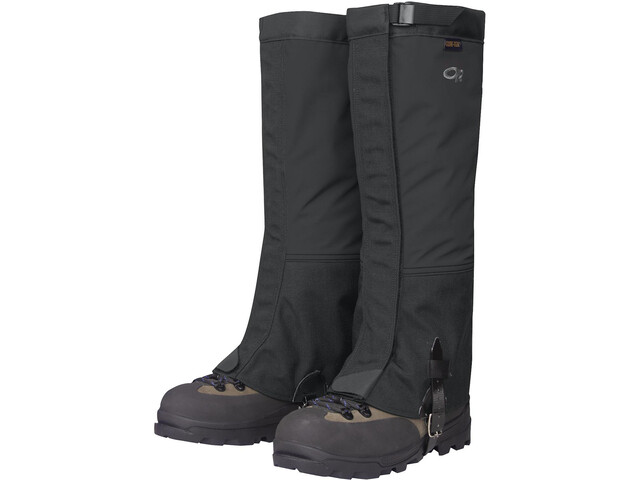 Outdoor Research Crocodiles Guêtres Homme, black